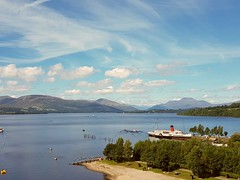 Loch Lomond. Magnificent view from the top of the Sea Life Centre. (Paul Rankin) Tags: lochlomond