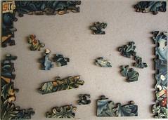 The Lion (Leonisha) Tags: puzzle jigsawpuzzle unfinished