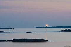 Russar lighthouse (taivasalla) Tags: russar hanko finland lighthouse sea seashore water calm archipelago