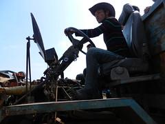 Tonle Sap (simo2582) Tags: tonlesap cambodia kampongphluk asia travel indochina reise urlaub unterwegs tropics tropical life human lorry truck driver man people workers transport lake daylight countryside viaggio cambogia