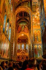 Iglesia del Salvador sobre la sangre derramada (Jesús Vegue) Tags: rusia sanpetersburgo iglesia crucero báltico sanktpeterburg ru