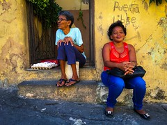 Santiago de Cuba. Cuba (H.L.Tam) Tags: cubaneggs cuban photodocumentary grocery street iphoneography cubanfaces streetphotography sketchbook iphone6s cubasketchbook documentary woman eggs santiagodecuba cuba