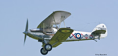 Hawker Demon (ianhb) Tags: shuttleworth vintage aircraft airshow hawker demon royalnavy