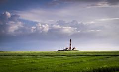 Westerhever lighthouse (Jenner Ka) Tags: westerhever leuchtturm lighthouse salzwiesen saltmeadows schleswigholstein