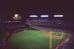 Texas Rangers Stadium_9 (Taiwan's Riccardo) Tags: 1995 usa 135film color slr transparency plustek8200i nikonn8008s kodachrome64 nikonlens zoom nikkor af 3570mm3345 arlington texas