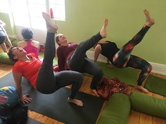 Rainbow kids yoga Adelaide 2016