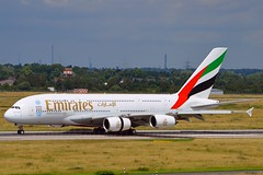 Emirates Airlines A6-EEX Airbus A380-861 cn/154 @ EDDL / DUS 26-06-2016 (Nabil Molinari Photography) Tags: emirates airlines a6eex airbus a380861 cn154 eddl dus 26062016