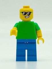 The Banana Guy (Pasq67) Tags: lego minifigs minifig minifigure minifigures afol toy toys flickr pasq67 series srie 16 brickpirate banana guy