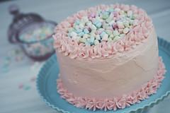 Tarta - Marshmallows - 4 WEB (manuel ek) Tags: cake trta marshmallows mini pink turquoise sweet homemade bakery party fujifilm samyang 50mm manuelekphoto