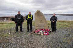 Paying Respects (thulobaba) Tags: scotland loch ewe rn mn russian convoys ww2 monument memorial