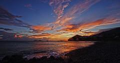 agia galini evening 12 (Bilderschreiber) Tags: agia galini crete kreta greece griechenland hellas sunset sonnenuntergang evening abend meer sea clouds wolken mittelmeer mediterranean