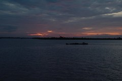 IMG_4404a Sunrise on the Mekong River, Vietnam (Wayne W G) Tags: tamronaf16300mmf3563diiivcpzdmacro asia southeastasia vietnam cib caibe village villages sunrise mekong river