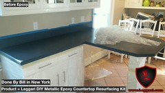Another #diy #countertop #coated with #leggariproducts #metallic #epoxy #countertops #resurfacing #kits #kitchendesign #kitchencountertops #countertopdesigns #countertopresurfacing #newyork (Epoxy Coatings for Countertops and Flooring) Tags: diy countertop coated leggariproducts metallic epoxy countertops resurfacing kits kitchendesign kitchencountertops countertopdesigns countertopresurfacing newyork