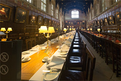 Christ Church College's dining hall / Gloucester / UK (zilverbat.) Tags: engeland zilverbat travel visit oxford tripadvisor film harry potter england christ dininghall indoor jkrowling church dinning dinningroom room university universiteit gloucester