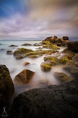 IN THE SHALLOWS (Vaughan Laws Photography | www.lawsphotography.com) Tags: longexposure longshutterexposure longexposurecolour longexposuresunset seascape sunset shoreline sky sea rocks water landscape portraitorientation beautiful color colorful nd10stop ndfilter neutraldensityfilter canon canon6d ocean long vaughanlaws vaughanlawsphotography lawsphotography clouds outdoor