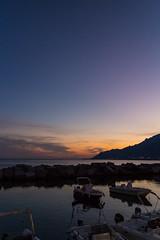 Tramonti... (Minieri Nicola) Tags: tramonto sunset mare sky sea cielo landscape longesposure lungaesposizione barche boats colori travel lungomare street strada