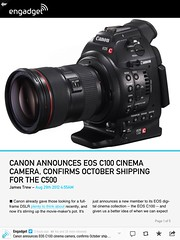 camera canon eos geek tools want engadget c100