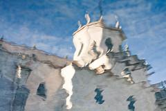 169/365 (virb4) Tags: blue reflection water 50mm agua catedral reflejo 365 santander cathedarl