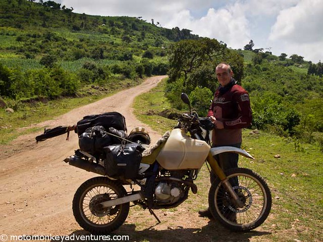 Mike and his DR 650