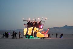 Burning Man 2012 (TWITA2005) Tags: man festival night desert nevada burningman blackrockcity burning burn brc bm artcar blackrock burningmanatnight playaatnight geo:state=nevada flickr:user=twita2005 geo:city=blackrockcity dustyrhino bm2012 burningman2012 fertility20