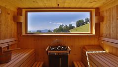 Sauna (Landhotel Spreitzhofer) Tags: st tiere österreich urlaub natur alm ferien steiermark pension wellness gasthof kathrein landhotel reiturlaub almenland spreitzhofer kinderurlaub