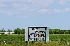 South Dakota Original (the_mel) Tags: wall southdakota highway billboard advertisement drug 90 i90 walldrug