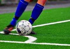 Corner (Terje Hheim (thaheim)) Tags: horizontal closeup corner ball nikon kick soccer fotball d90 70200mmf28gvrii