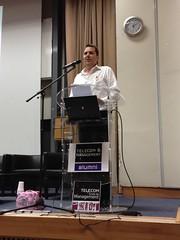 Discours Alexandre ZAPOLSKY, parrain TEM (Groupe LINAGORA) Tags: management tem cole tsp parrain sudparis linagoraopensource