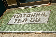 National Tea Company (Cragin Spring) Tags: building tile illinois midwest floor entrance il rockford terrazzo rockfordillinois rockfordil winnebagocounty northernillinois nattional nationalteaco