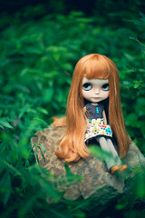 Brier Rose Nature Girl (libbalu) Tags: ir doll plastic blythe custom hybrid takara tiina dlg rbl brierrose