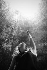 World of Glass 5/52 (Charlotte Catherine) Tags: light chimney portrait blackandwhite glass girl monochrome contrast canon exposure factory walk tunnel adventure day52 week5 rodchenko worldofglass sooc canoneos550d 55252weeks