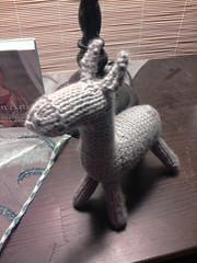 2012-09-15 23.31.51 (L-C-R) Tags: knitting donkey sep fo 2012 knitivity