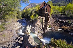 Crystal Mill at last (jah~) Tags: mountains color history fall mill waterfall colorado crystal foliage aspen crystalmill