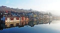 Eglisau_22_03022009_08'52 (eduard43) Tags: city reflection river schweiz switzerland morninglight town stadt fluss rhine rhein spiegelung mirroring morgenlicht eglisau