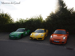 Colorful (Mareno de Graaf) Tags: orange green yellow germany photography colorful 911 automotive olympus ferrari september porsche rs scuderia 2012 e600 supercars 430 gt3 mareno nordschleife nrburgring degraaf gt3rs porschegt3rs ferrari430scuderia granturismoevents marenty marenodegraaf granturismonrburgringevo