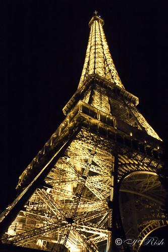 Eiffel Glow in the night