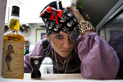 Day 2058 (evaxebra) Tags: hat skull pirates jerry pirate bilge rum 365 sailor patch microwave shotglass crossbones eyepatch savvy wh avast 365days evaxebra