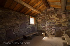 """Gunsight Shelter Cabin • <a style=""""font-size:0.8em;"""" href=""""http://www.flickr.com/photos/63501323@N07/8007170738/"""" target=""""_blank"""">View on Flickr</a>"""