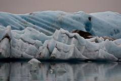 Jagged Vacance, Thick With Ice (Rukasu1) Tags: blue lake ice iceland nikon glacier iceberg nikkor 70300mm 2012 jkulsrln d5000 nikond5000