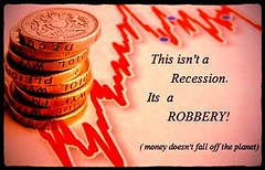 What is a Recession? (Madlookin) Tags: uk chart money loss landscape one 1 high coin market budget low graph stack falling business growth pile trading diagram conspiracy british sterling savings robbery peaks economic theft pound currency recovery loan wealth finance invest stockmarket troughs recession bankers fiscal exchangerate fiatcurrency fluctuate homefinances