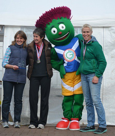 First Mid Argyll Ladies – Rebecca Helliwell, Hazel Manson, Kirsty Young
