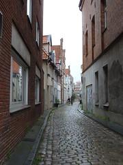Calleja de Lübeck (Niko Alemania intenta volver a estar presente;-)) Tags: deutschland ellen 28 juli lübeck 2012 holstein schleswig