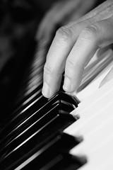 82/366 - Music night (MaikenVL) Tags: bw project keys photo keyboard jane diary piano picture roland 365 366