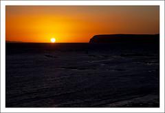 Freshwater Bay (Fazer44) Tags: uk sunset red england sun water canon dark island isleofwight freshwater freshwaterbay canonef24105mm tpsseascape