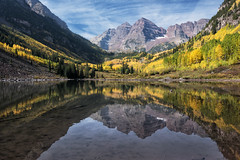 Maroon Lake (snowpeak) Tags: maroonbells coloradomountains maroonlake nikond800e