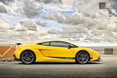 Clouds Taste Metallic (anType) Tags: italy sports car yellow italian asia sl exotic malaysia kualalumpur penang lamborghini luxury coupe supercar v10 sportscar lambo lightweight superleggera pulaupinang gurneyplaza worldcars lp5704 gialloorion
