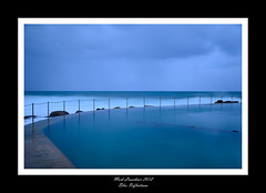 Blue Reflections (Mark_Leuschner) Tags: ocean blue sea reflection beach water pool waves sydney calming calm bronte