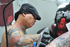 London Tattoo Convention held at the Tobacco Dock London, England