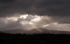 Jacob's ladder (Steve Bird1) Tags: light mountain clouds dark break rays ladder jacobs shafts crepuscular