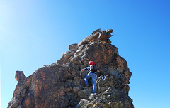 Appuntito (Wrinzo) Tags: sky mountain alpes switzerland hiking top climbing cielo svizzera alpi montagna engadin cima engadina pizjulier engiadina julierpas cantongraubunder